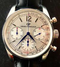 Girard Perregaux Fiat Eleganter Automatik Luxus Herren Chronograph Ref.49480