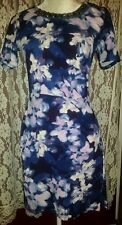 Beautiful Jessica Simpson Very Flattering Beaded Evening Cocktail Party Dress M