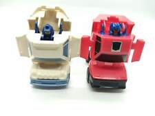 Transformers Throttlebots Searchlight and Chase Gen 1 1987