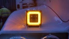 1 x GloTrac Amber Turn signal light, Indicator.Kenworth,Freightliner Truck