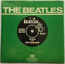 THE BEATLES / GET BACK / APPLE UK 1976