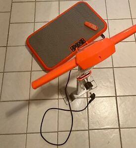 vibro shaper vibrationsplatte mit Fernbedienung und Haltestange