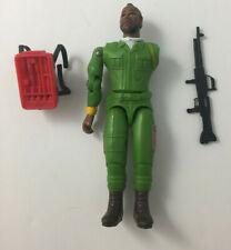 Vintage Galoob A-Team Ba Baracus Mr T Figure - Complete W/ Gun & Backpack 1983