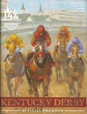 2018 - 144th Kentucky Derby program in MINT, UNUSED Condition - JUSTIFY