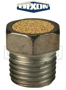 """ASP-2BV Dixon 1/4"""" NPT Pneumatic Breather Vent Nickel Plated Steel FACTORY NEW!"""