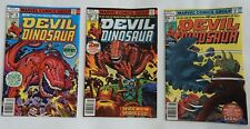 Devil Dinosaur #1, 2, 3, 6, 7, 9 - Moon Boy - SEE PHOTOS FOR CONDITION!