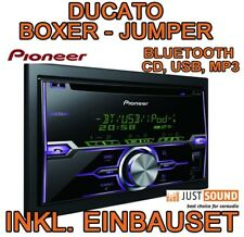 Fiat Ducato - Citroen Jumper - Peugeot Boxer - Pioneer USB BLUETOOTH Autoradio