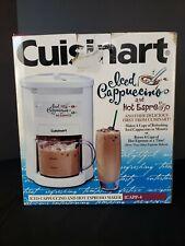 New Cuisinart Iced Cappuccino & Hot Espresso Coffee Maker Machine ICAPP-4