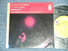 "GFR GRAND FUNK RAILROAD Japan 1971 7""33EP SIN'S A GOODMAN'S BROTHER+HEARTBREAKER"
