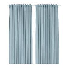 IKEA VIVAN - Pair of Curtains Window Panels Thin Sheer Assorted Colors