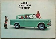 FORD ANGLIA Car Sales Brochure 1965-66   SALOON Super ESTATE