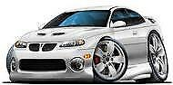 2004 2005 2006 Pontiac GTO Quicksilver Metallic t-shirt holden in sizes S-3XL