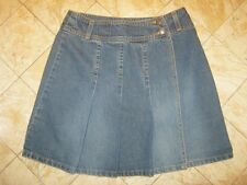 WAREHOUSE UK short  wrap denim skirt size 10 BNWT made in UK