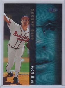 1998 FLEER ULTRA WIN NOW GREG MADDUX BRAVES BASEBALL INSERT CARD SP #8WN
