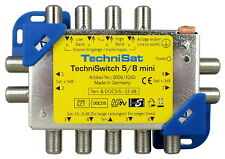 TechniSat TechniSwitch 5/8 mini - Sat Multischalter 8-fach 0000/3260