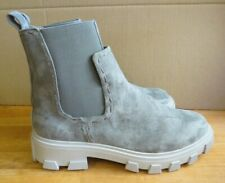 Free People Vegan Delta Chelsea ankle Boot grey size 6