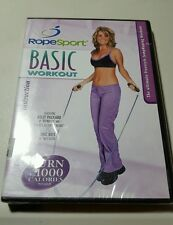 RopeSport - Basic Workout (DVD, 2005)  Great Calorie Burner up to 1000  per hour