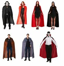 Halloween Capes Fancy Dress Costume Unisex Medieval