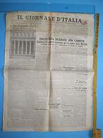 WW1 @ 24/05/1911 IL GIORNALE D'ITALIA Inaspettato incidente alla Camera 281