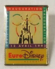 Euro Disney Inauguration Pin april 12 1992