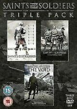 Saints and Soldiers Triple Pack 5037899056554 DVD Region 2
