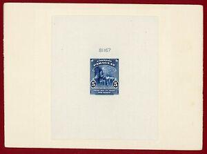 Paraguay 1940 #385, Sunken Die Proof, Dr Jose Francia, ABNC