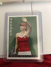 New listing Maria Sharapova 2015 Upper Deck Goodwin Champions Goudey #8
