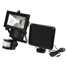 3W COB Bright Solar Powered PIR Sensor Flood Security Light Outdoor Garden Wall