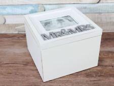 Square Contemporary Decorative Keepsake Boxes