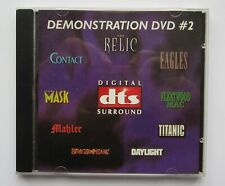 DTS DEMO DVD NO. 2 !!!! Super Selten - RARE TRAILER