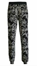 Viscose Loose Fit Low Rise Trousers for Women