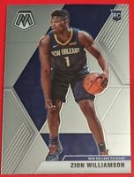 Zion Williamson RC 2019-20 Panini Mosaic Basketball #209 Base Rookie