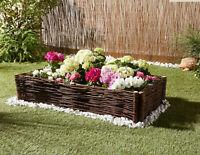Rasenkante aus Verzinktem Stahl Blumenbeet-Einfassung Rand Grenze Garten 500cm