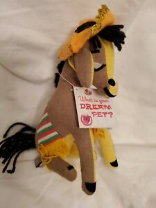 Dakin Dream Pets Mule Donkey with sombrero,animal Exc