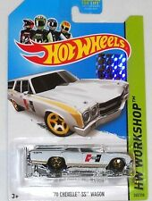 2014 HOT WHEELS RLC FACTORY SET WORKSHOP SERIES 1970 CHEVELLE SS WAGON