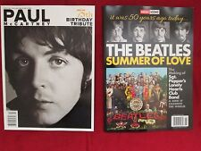 New 2017 Beatles Magazines - Paul McCartney 75th Birthday & The Summer of Love