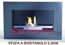STUFA A BIOETANOLO A MURO MOD. A700 KW 3,5 CM.80X19X47H