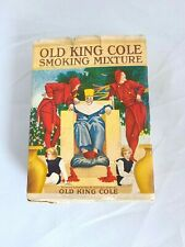 Antique Maxfield Parrish Old King Cole Smoking Mixture Tobacco Paper Packaging