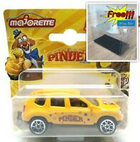 Majorette Dacia Duster Pinder Yellow 1:64 225A Free Display Box
