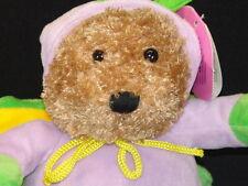 NEW PURPLE BUTTERFLY COSTUME GALERIE CHOCOLATE TEDDY BEAR PLUSH STUFFED ANIMAL