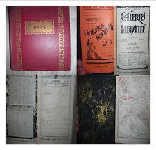 AGENDA des GRANDS MAGASINS AUX GALERIES LAFAYETTE.1925.GRANDE CARTE DEPLIANTE