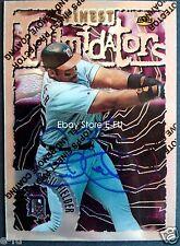 CECIL FIELDER Signed 1996 Finest Intimidators #84 Auto PSA/DNA Tigers Autograph