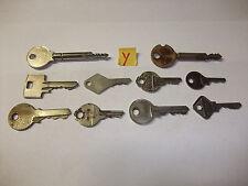 Y Konvolut alte antike Schlüssel Sicherheitsschlüssel fü Vorhängeschlösser Türen