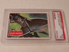 """1966 Topps BATMAN (A Series) Red Bat #37A """"Watery Warfare"""" - PSA 7 NM - Rare!"""