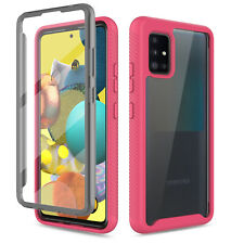 For Samsung Galaxy A11 A21 A51 A71 5G Full Case With Built-in Screen Protector
