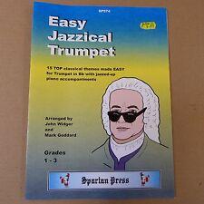 EASY JAZZICAL TRUMPET grades 1-3, John widger Mark Goddard