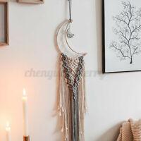 Woven Tapestry Wall Hanging Bohemian Tassel Macrame Ornament Home Art Room