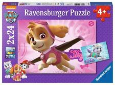 Ravensburger 09152 Paw Patrol Skye & Everest 2 x 24 Pieces Jigsaws Puzzles Game