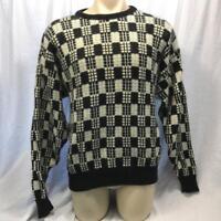 Vintage Jantzen Mens Sweater Bold Biggie 1990's Size L made in USA