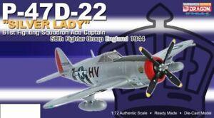"Dragon P-47D-22 Thunderbolt~""Silver Lady"" 61st FS~50268"